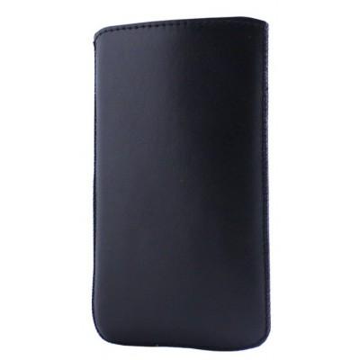 Чехол-вытяжка Grand Nokia 230 (кожа) Чёрный