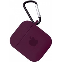 Чехол for AirPods SILICONE CASE Marsala