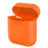 Чехол for AirPods силиконовый SLIM тех.пак Apricot