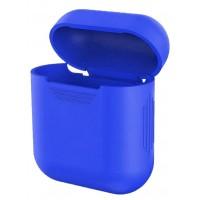 Чехол for AirPods силиконовый SLIM тех.пак Blue