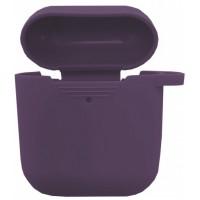 Чехол for AirPods силиконовый SLIM тех.пак Purple